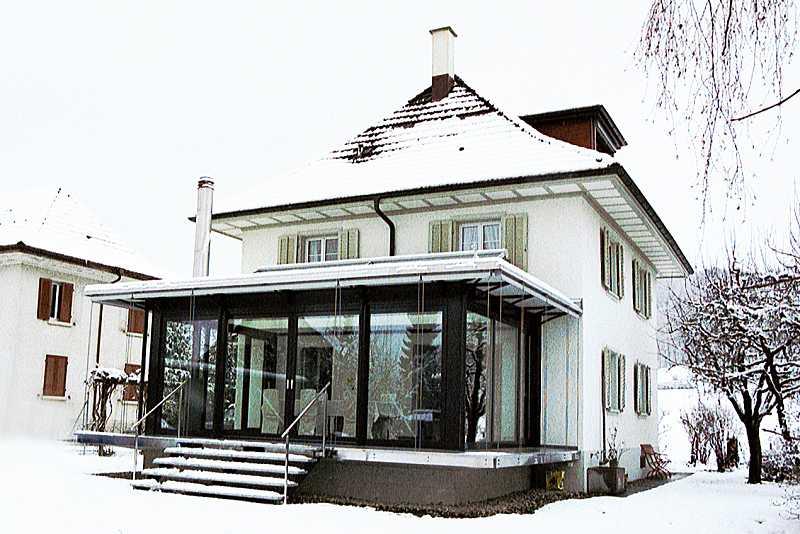 Wintergarten Stahl wintergärten huber stahl und metallbau erlinsbach